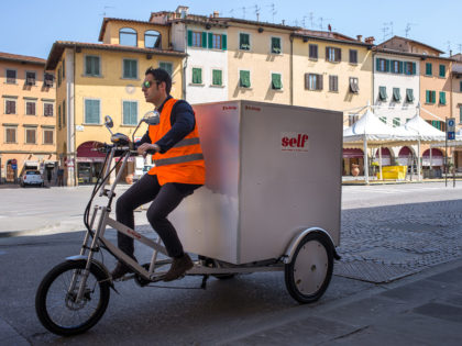Consegne a domicilio? Falle in Triciclo con il Big Box di Self!