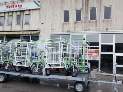 Il Triciclo Elettrico Gladiator II sbarca nel Veneto.