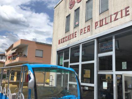 Servizio navetta Villaggi Turistici – Bus elettrico 23 posti