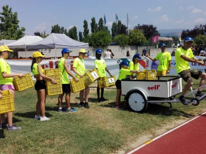 Triciclo Pick-Up: Self ai Campionati Italiani Atletica Leggera MASTER 2019
